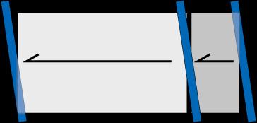 斜め刷り(上から見た図)
