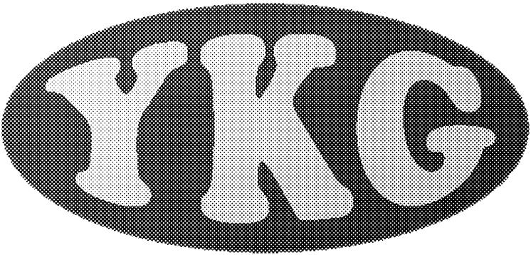 YKGマーク(60線45度)
